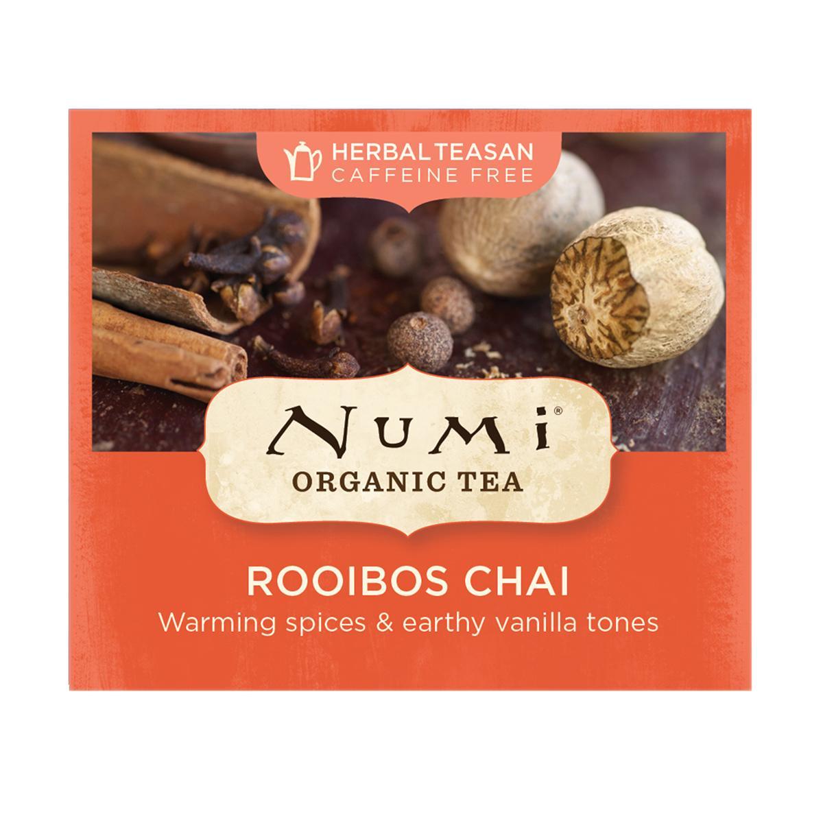 Numi Organic Tea Rooibos Chai 2,7 g, 1 ks