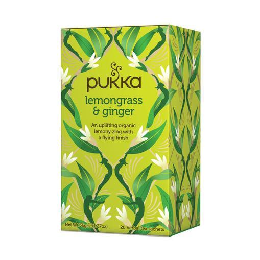 Pukka Čaj ayurvédský Lemongrass Ginger 20 ks, 36 g
