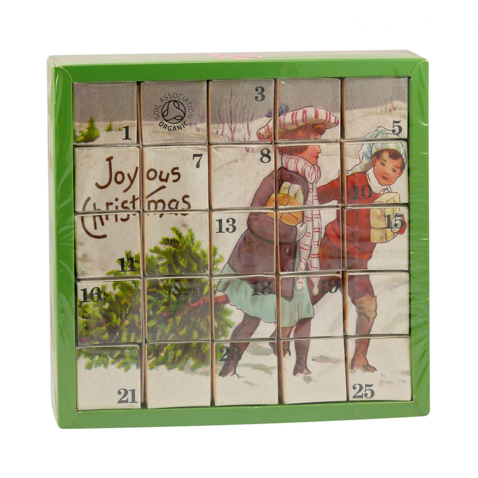 English Tea Shop Adventní kalendář Radostné vánoce 25 ks, 50 g
