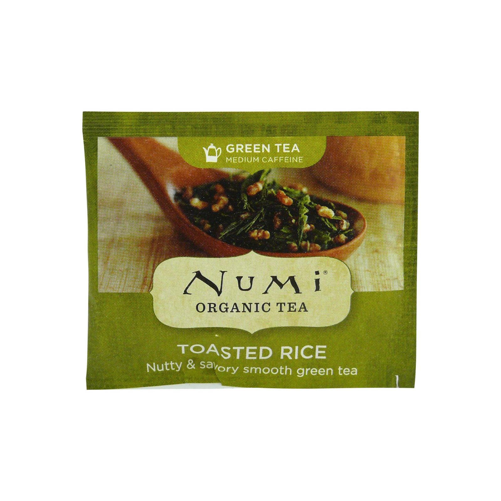 Numi Zelený čaj Toasted Rice 1 ks, 2,6 g