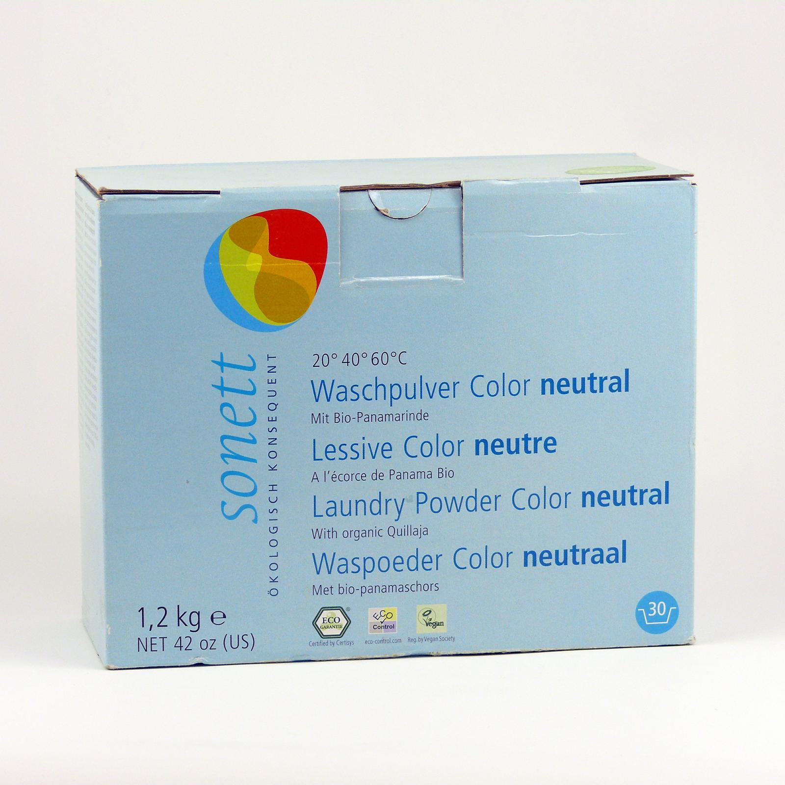 Sonett Prášek na praní Neutral 1,2 kg