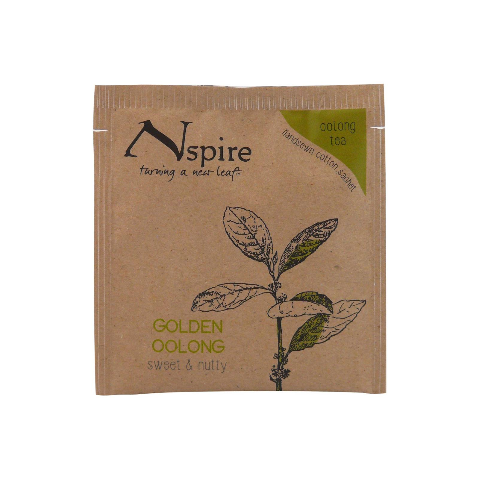 Numi Organic Tea Čaj Golden Oolong, Nspire Tea 3 g, 1 ks