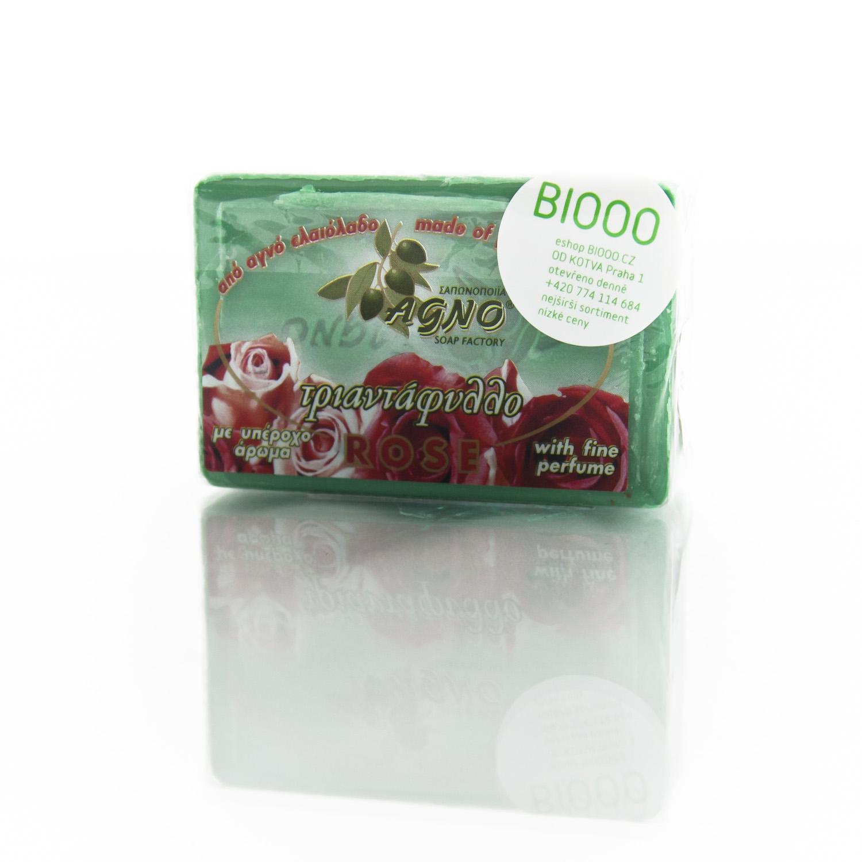 Agno Mýdlo olivové růže 125 g