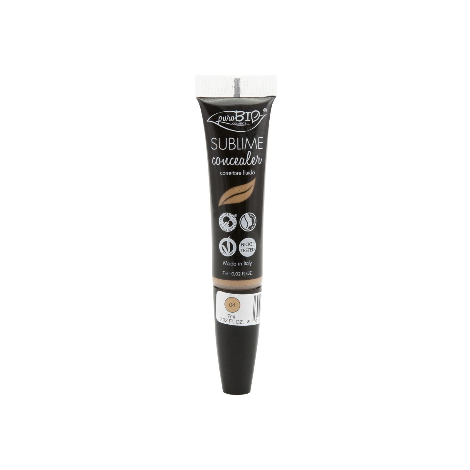 puroBIO cosmetics Korektor tekutý 04 7 ml