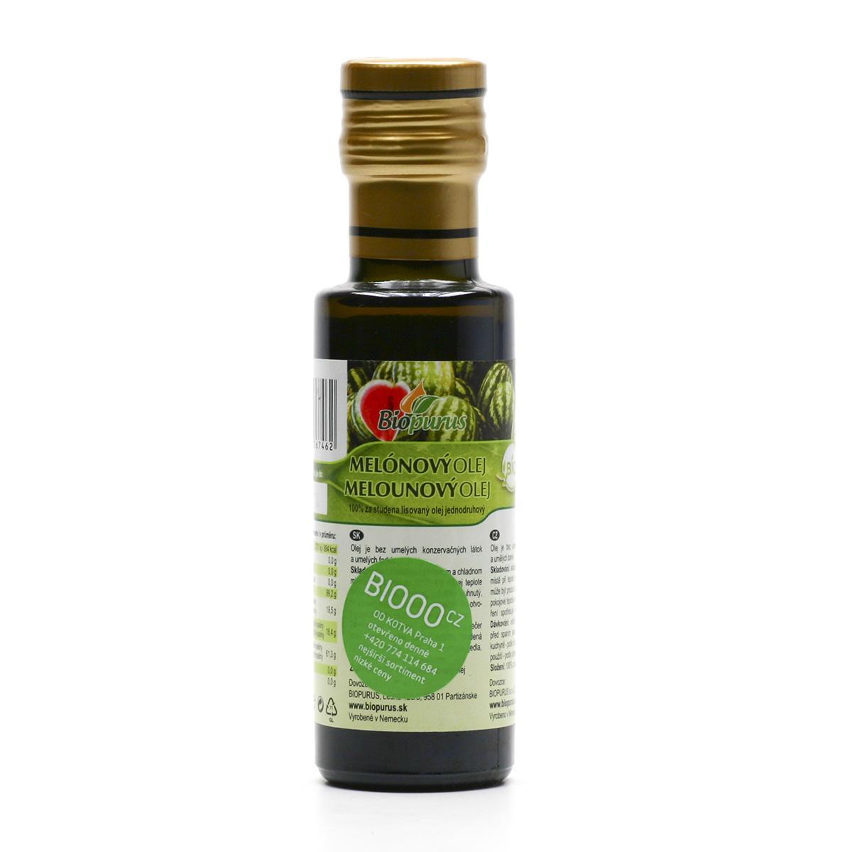 Biopurus Melounový olej 100 ml