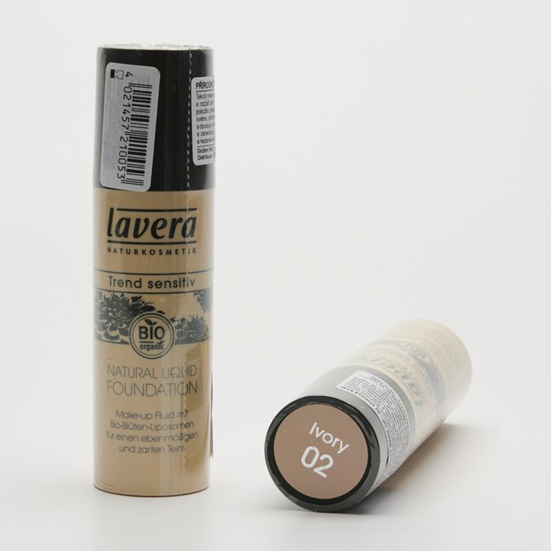 Lavera Make-up tekutý 02 slonová kost, Trend Sensitiv 30 ml