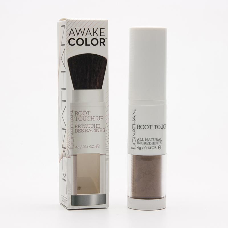 Jonathan Suchý šampon na odrosty a šediny Hnědý 4 g, štětec