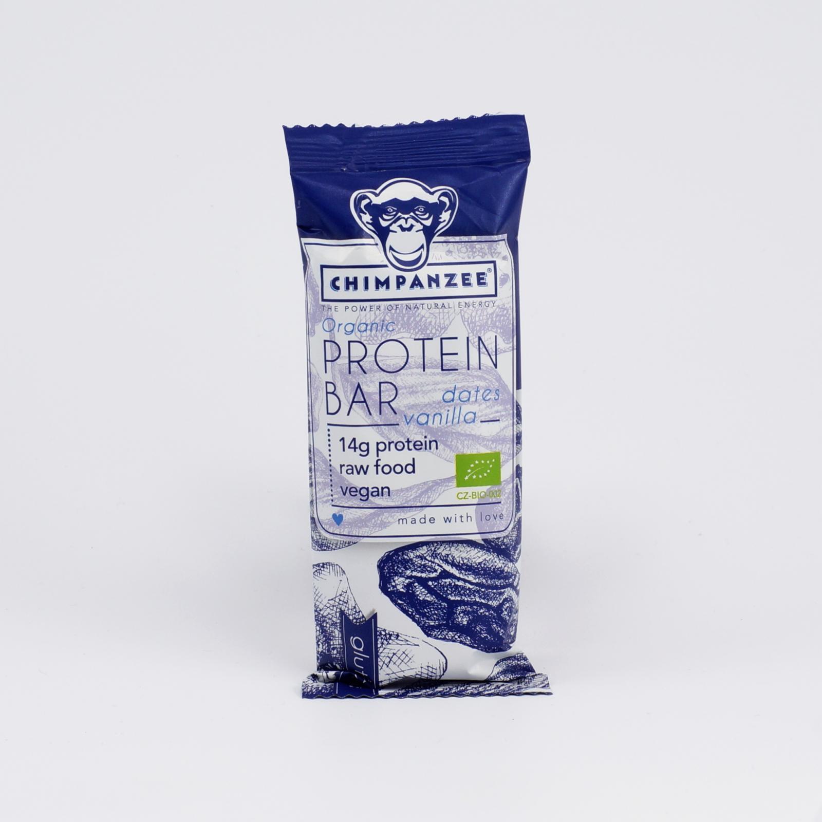 Chimpanzee Tyčinka Protein Bar Dates - Vanilla 45 g