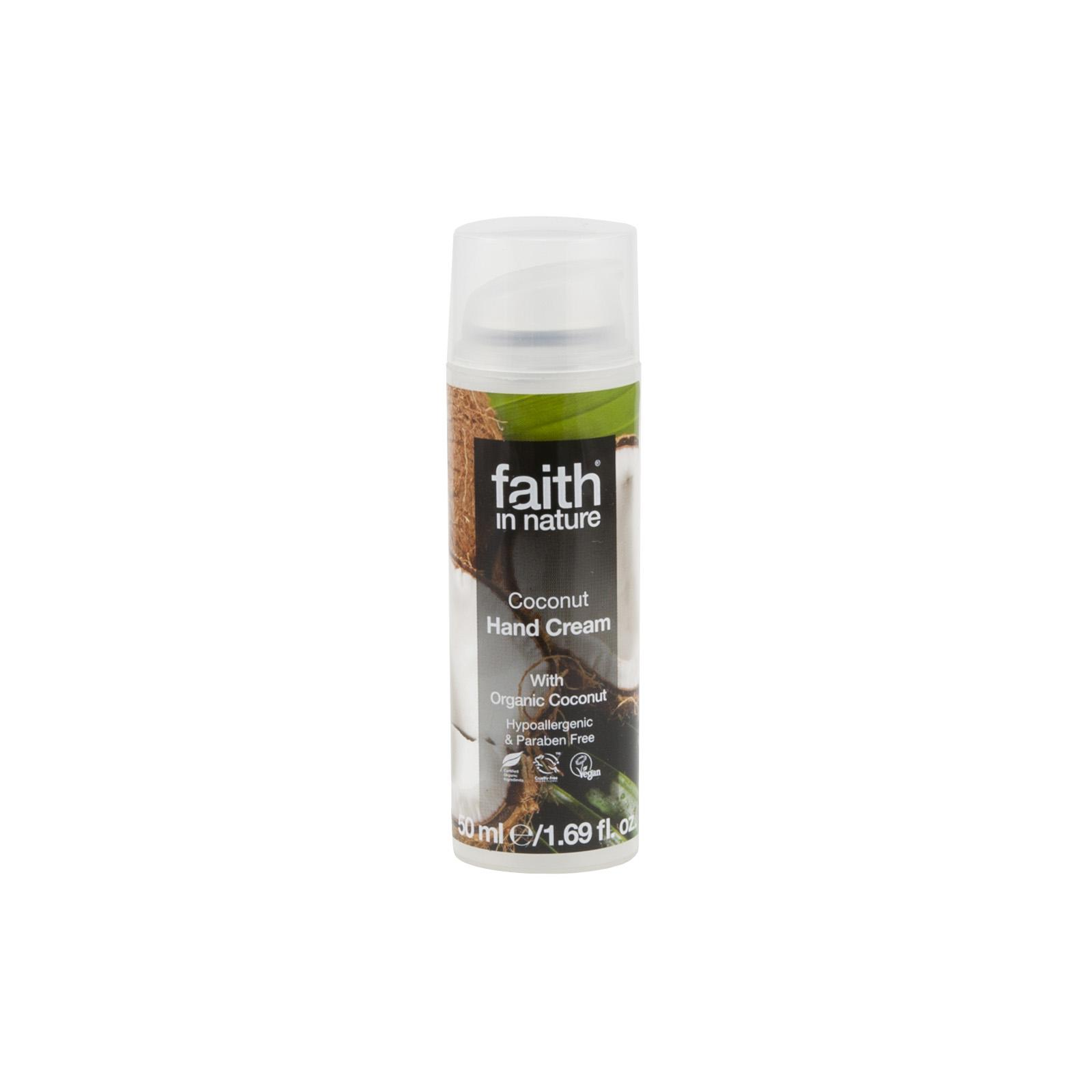 Faith in Nature Krém na ruce kokosový 50 ml