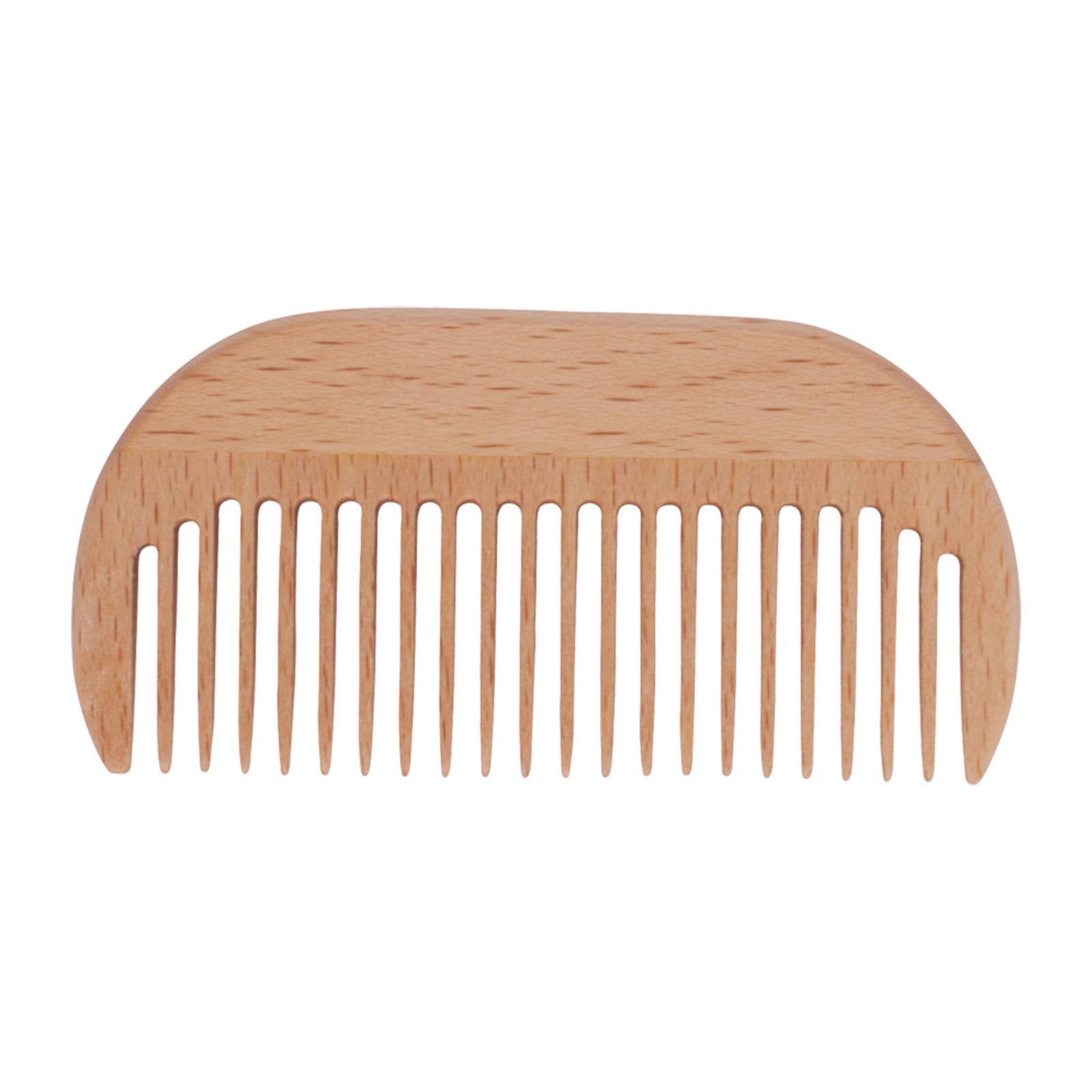 Redecker Kapesní hřeben z bukového dřeva Afro Comb 9 cm