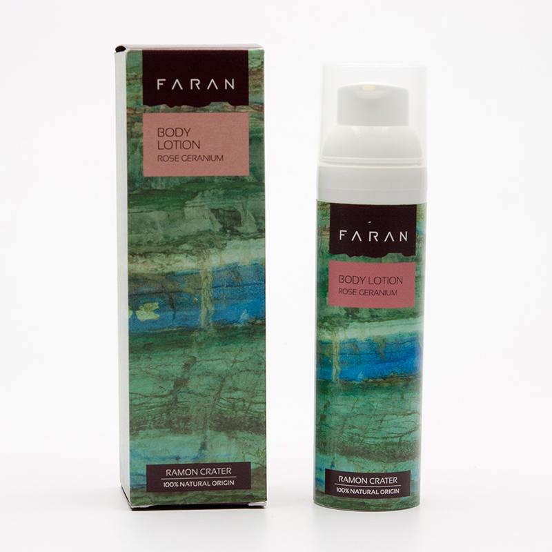 Faran Tělové mléko Rose / Geranium 75 ml
