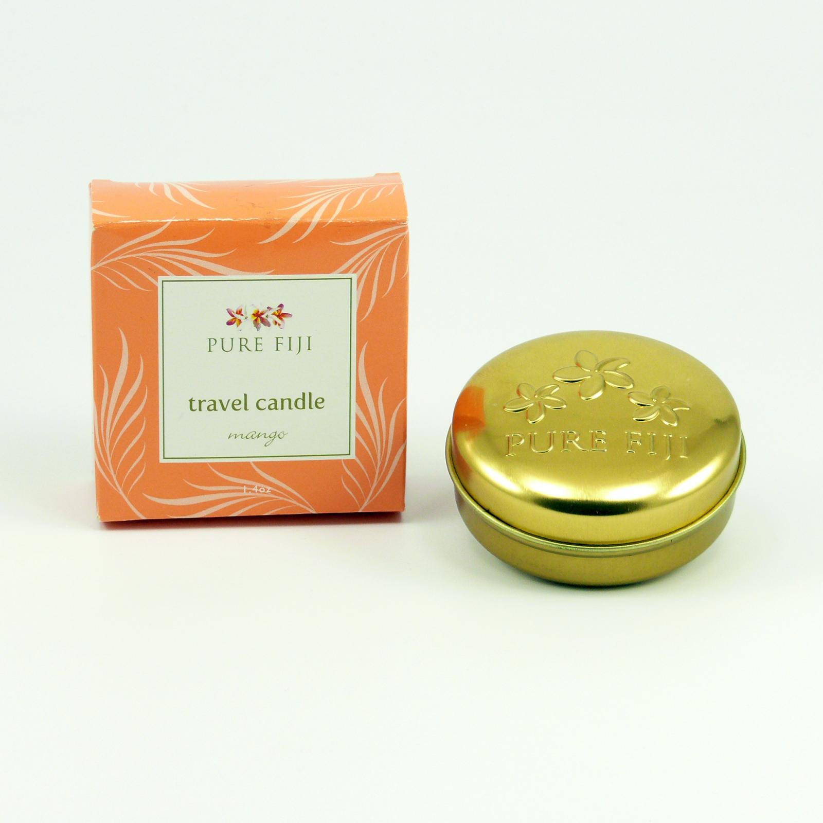 Pure Fiji Cestovní svíčka, mango 40 g