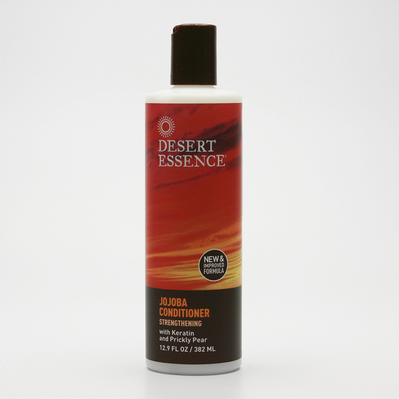 Desert Essence Kondicioner posilující s keratinem a jojobovým olejem 382 ml