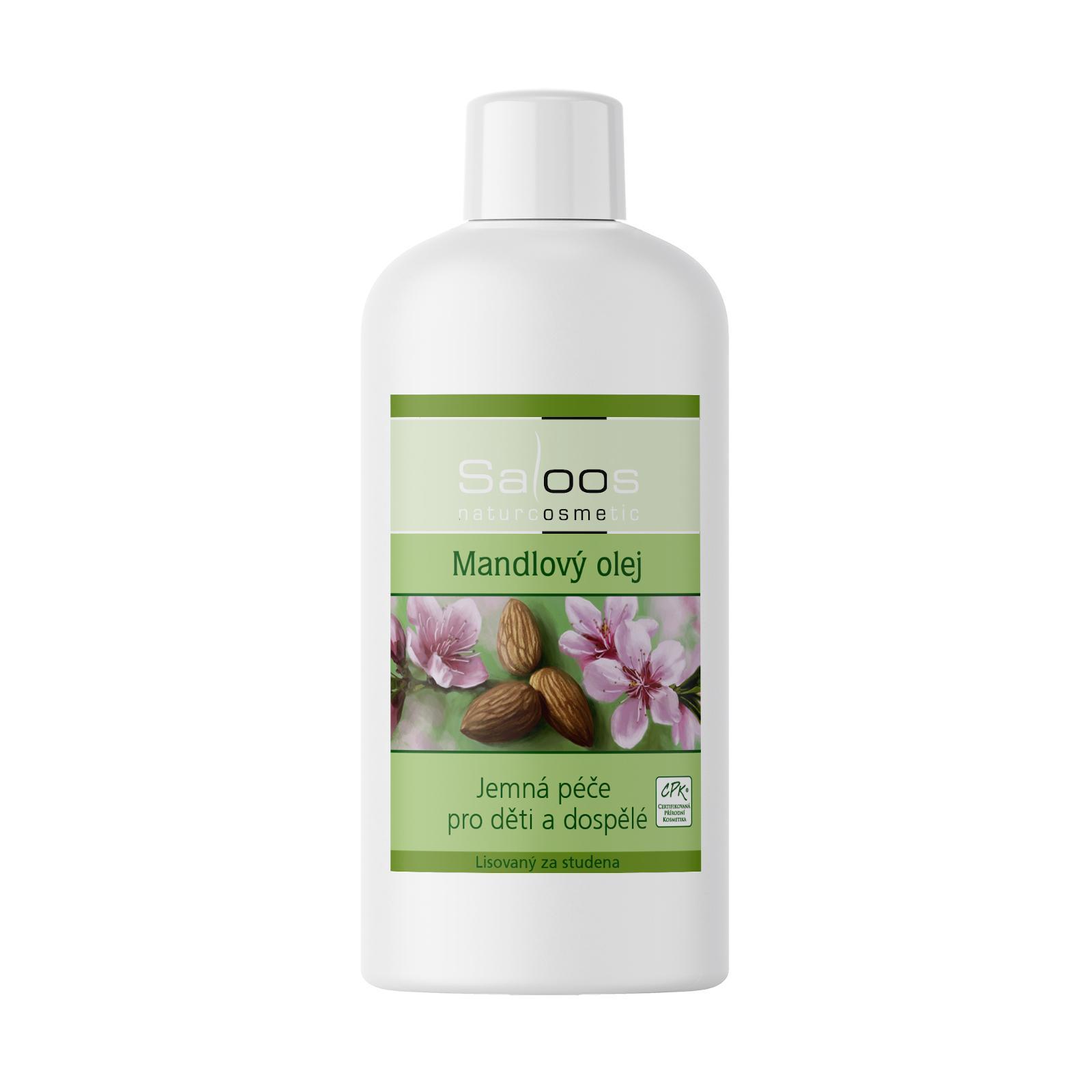 Saloos Mandlový olej 250 ml