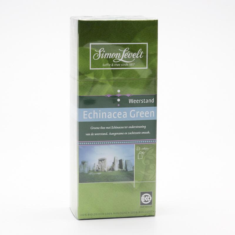 Simon Levelt Zelený čaj Echinacea Green 22 ks, 44 g