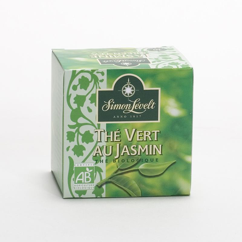 Simon Levelt Zelený čaj Jasmine Green 10 ks, 15 g