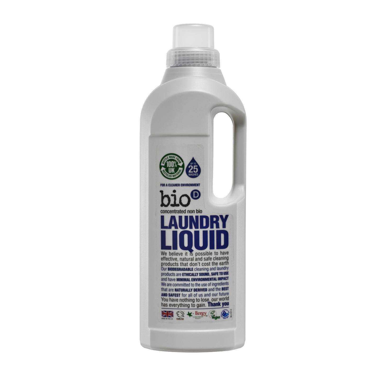 Bio-D Tekutý prací gel 1 l