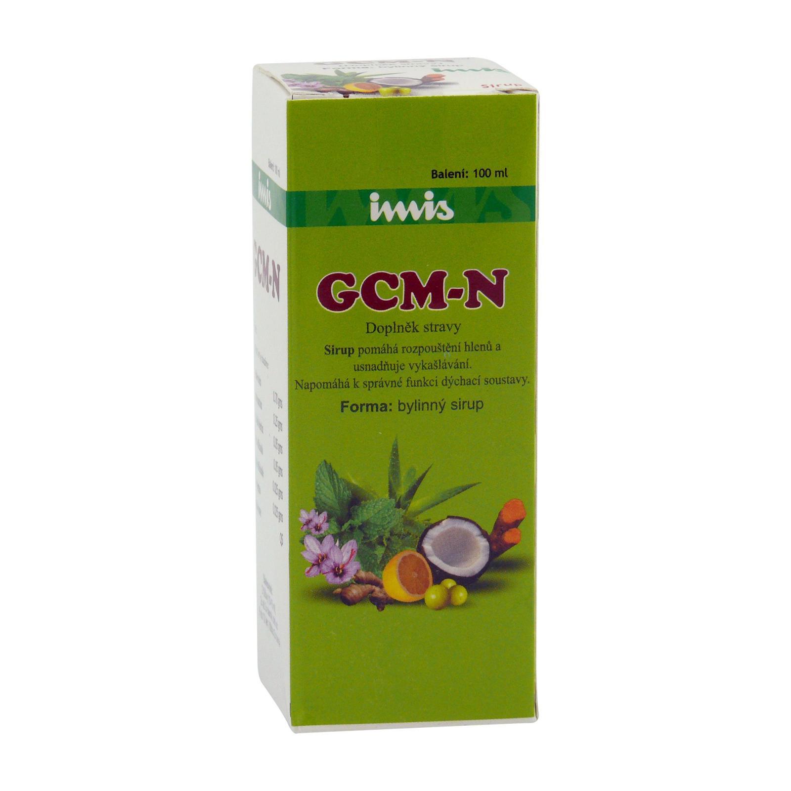 Ecce Vita GCM-N sirup na kašel, Imis 100 ml