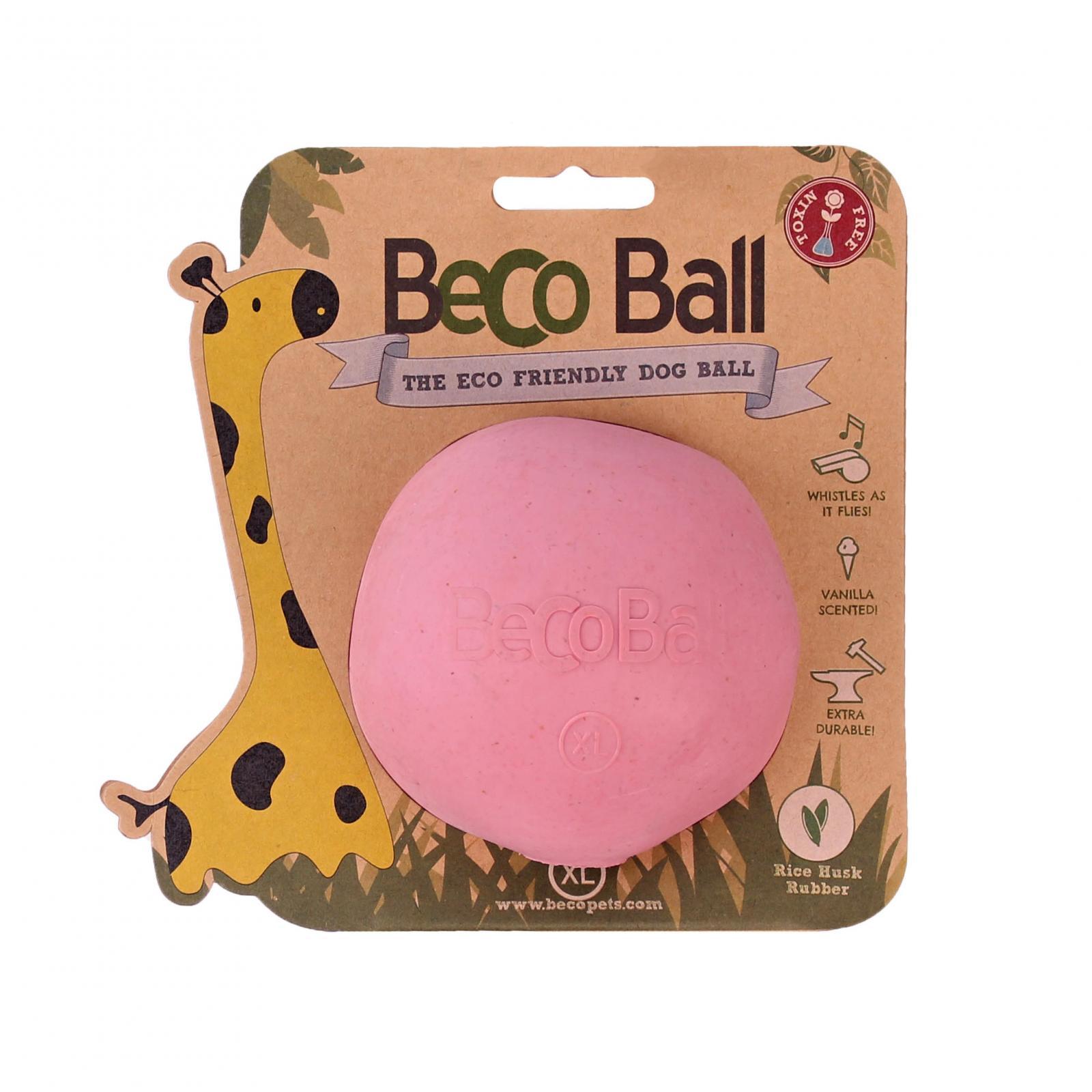 Beco Pets Beco Ball X-Large 1 ks, růžová