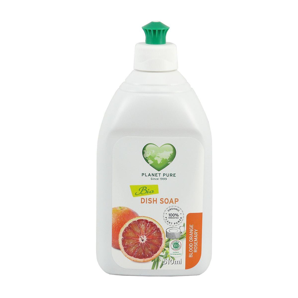 Planet Pure Gel na mytí nádobí s pomerančem 510 ml