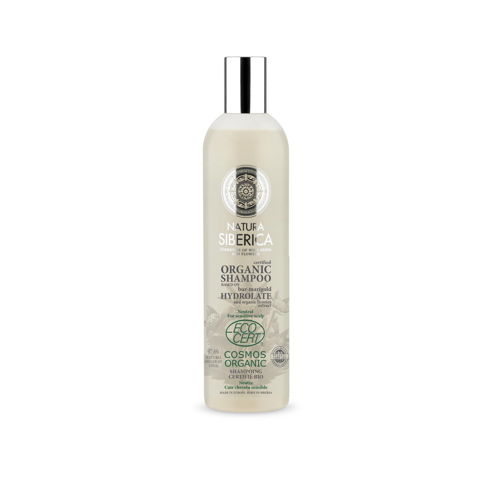 Natura Siberica Neutrální šampon pro citlivou pokožku hlavy 400 ml