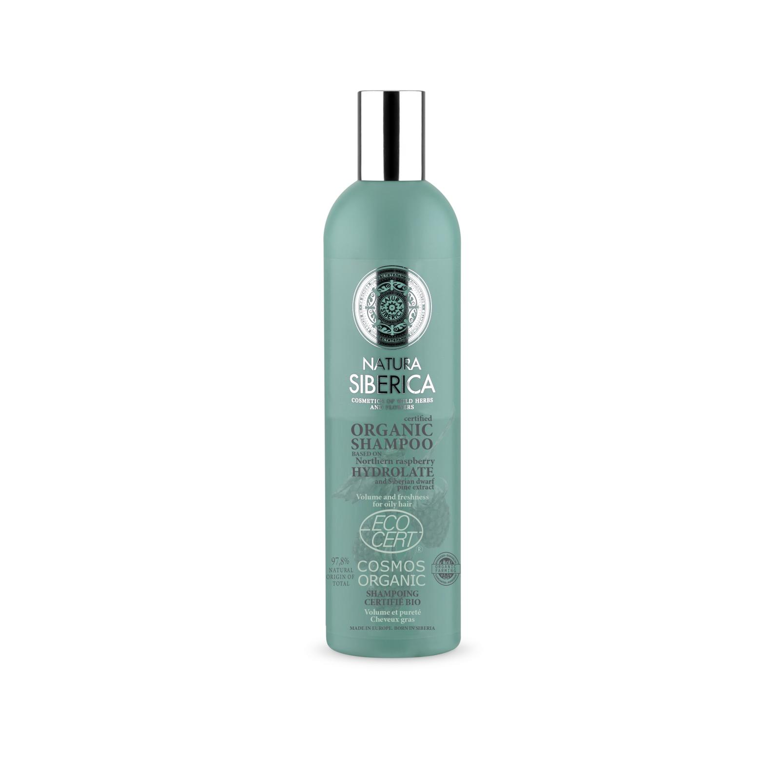 Natura Siberica Šampon pro mastné vlasy - Objem a svěžest 400 ml