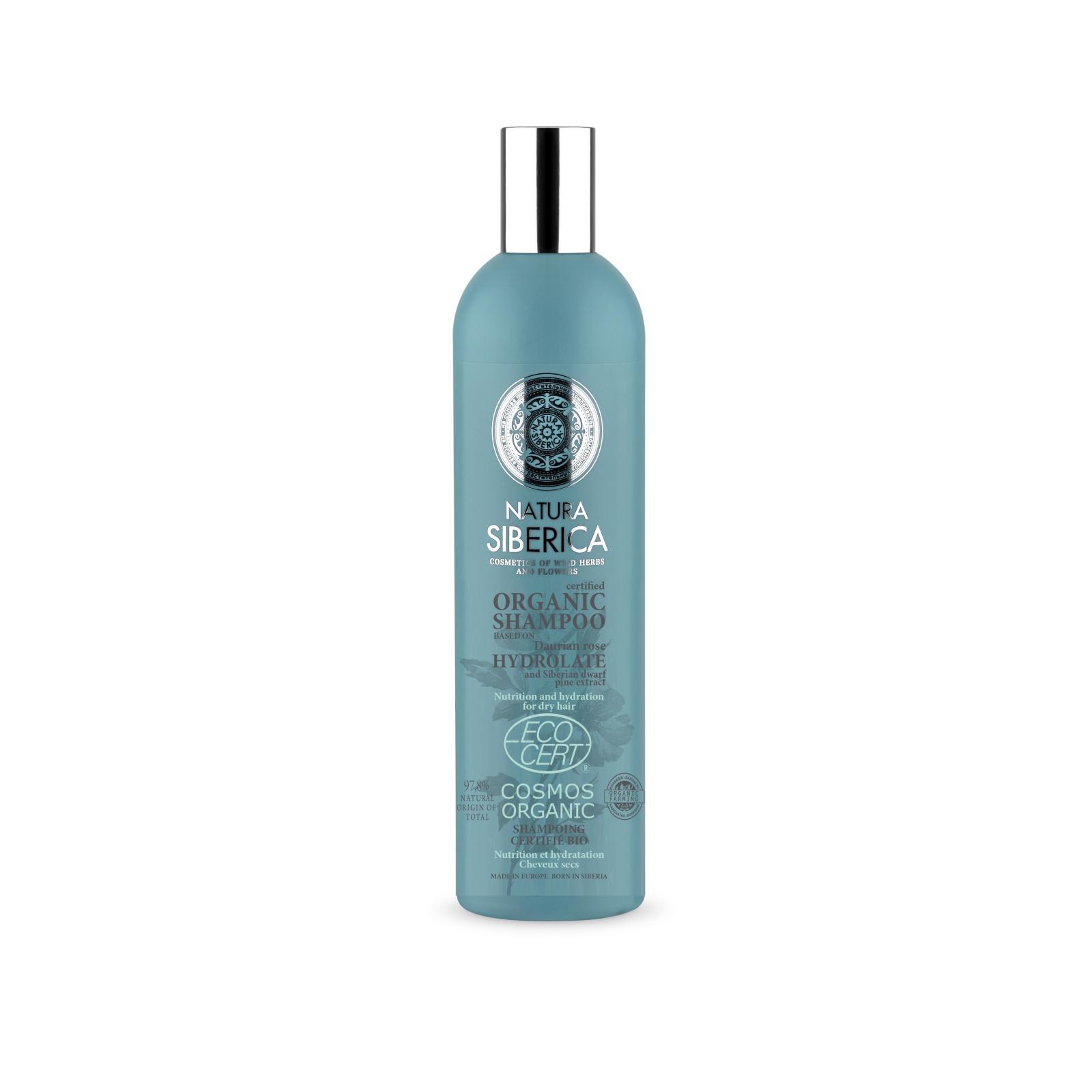 Natura Siberica Šampon pro suché a lámavé vlasy - Výživa a hydratace 400 ml