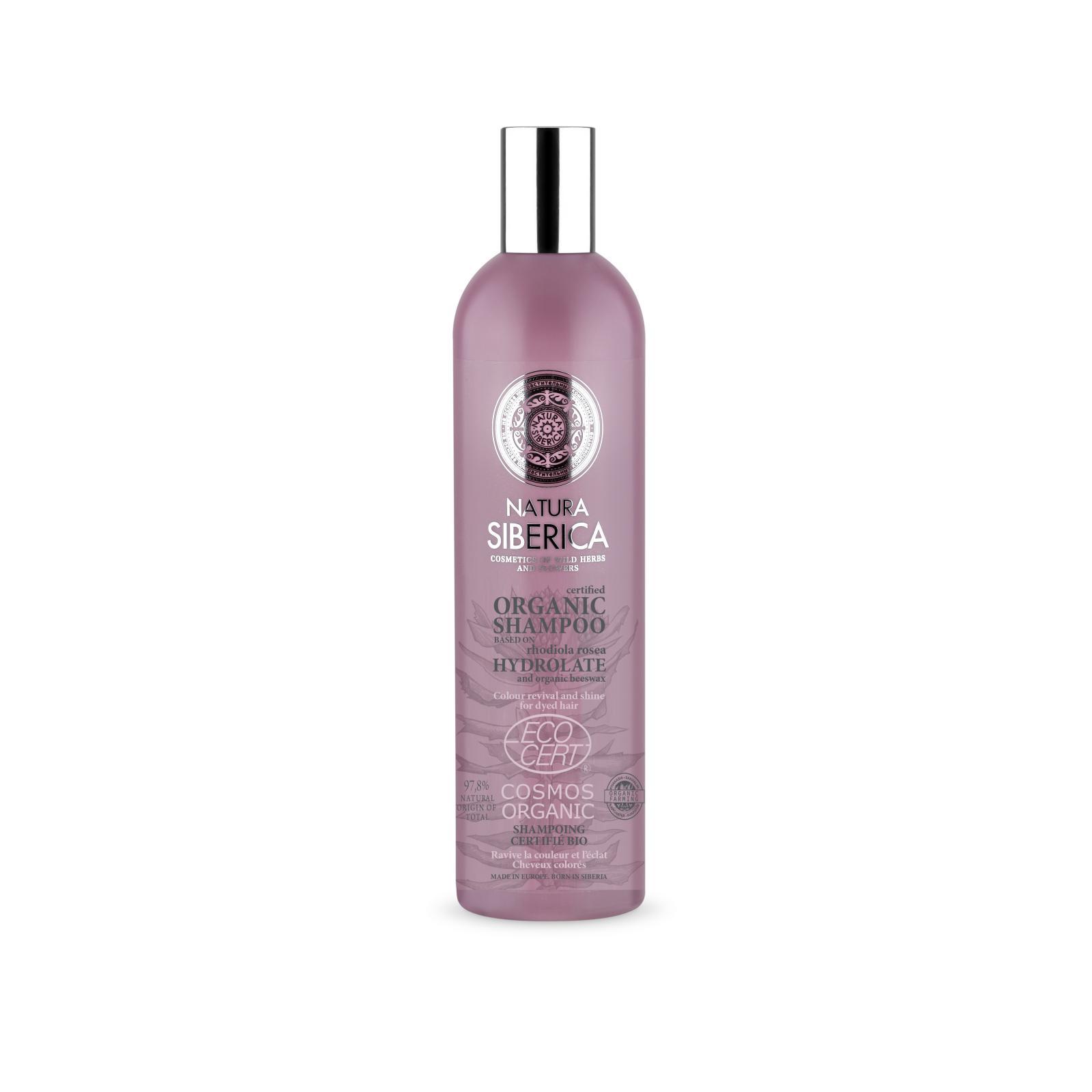 Natura Siberica Šampon pro barvené vlasy - Oživení barvy a lesk 400 ml