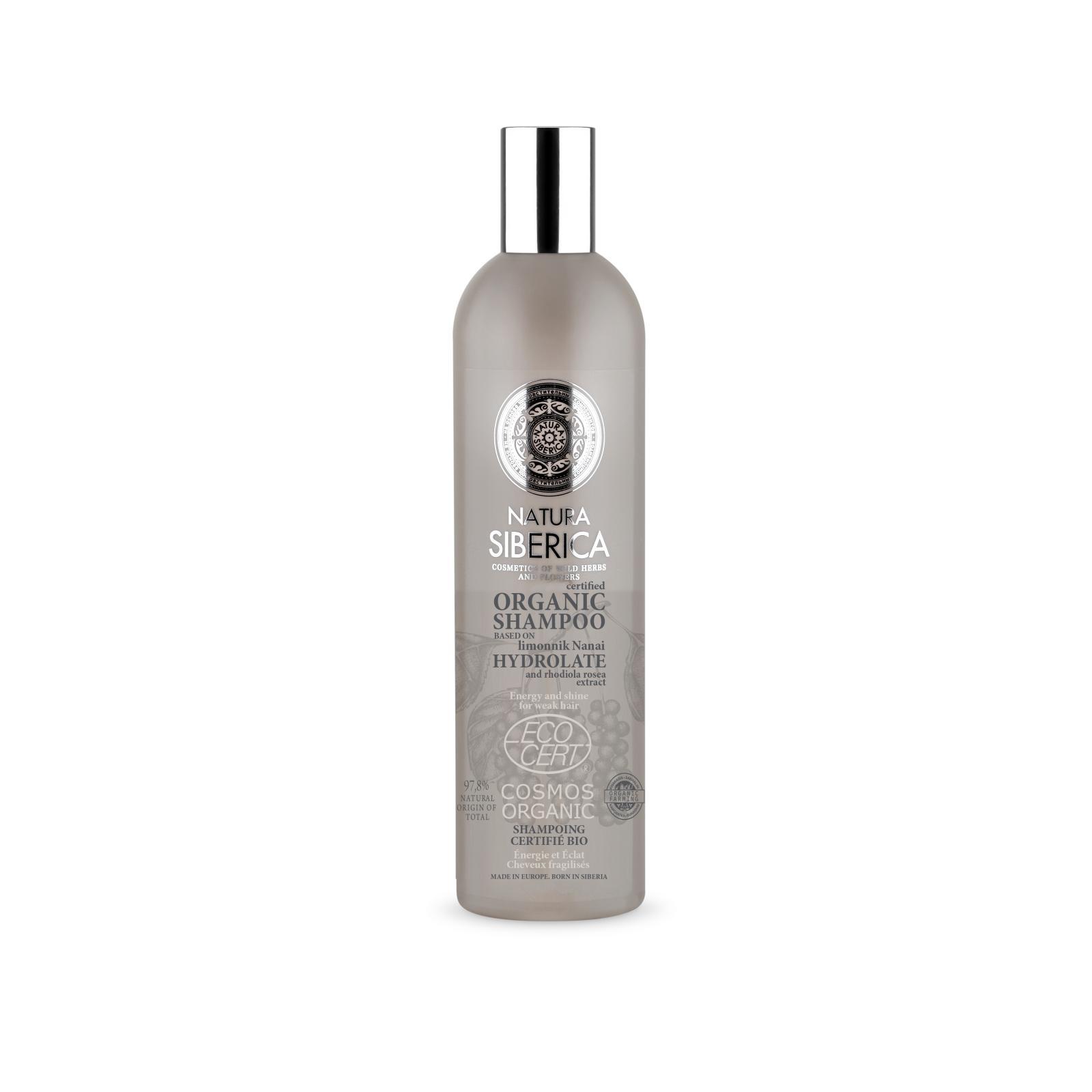 Natura Siberica Šampon pro oslabené vlasy - Vitalita a lesk 400 ml
