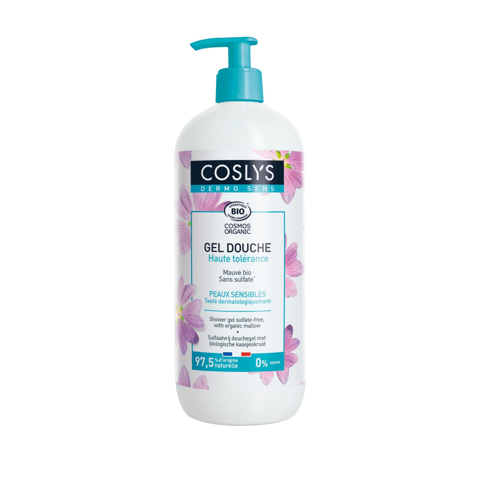 Coslys Sprchový gel bez sulfátů sléz 950 ml