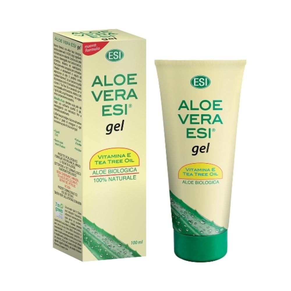 ESI Aloe vera gel s vitaminem E a teatree 100 ml