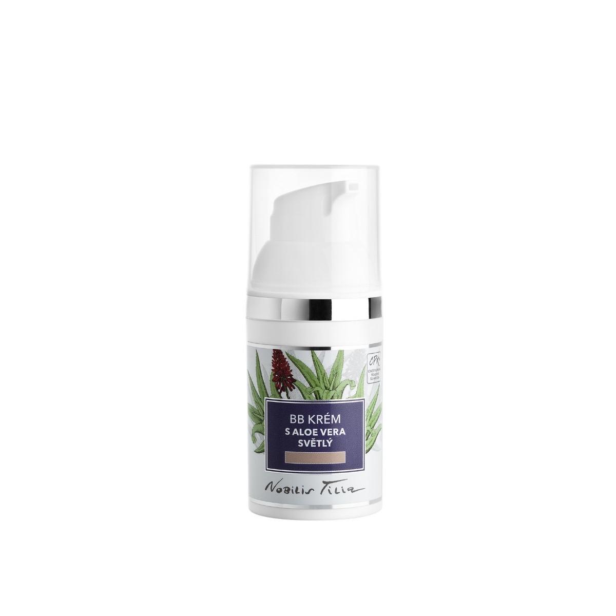 Nobilis Tilia BB krém s Aloe vera světlý 30 ml