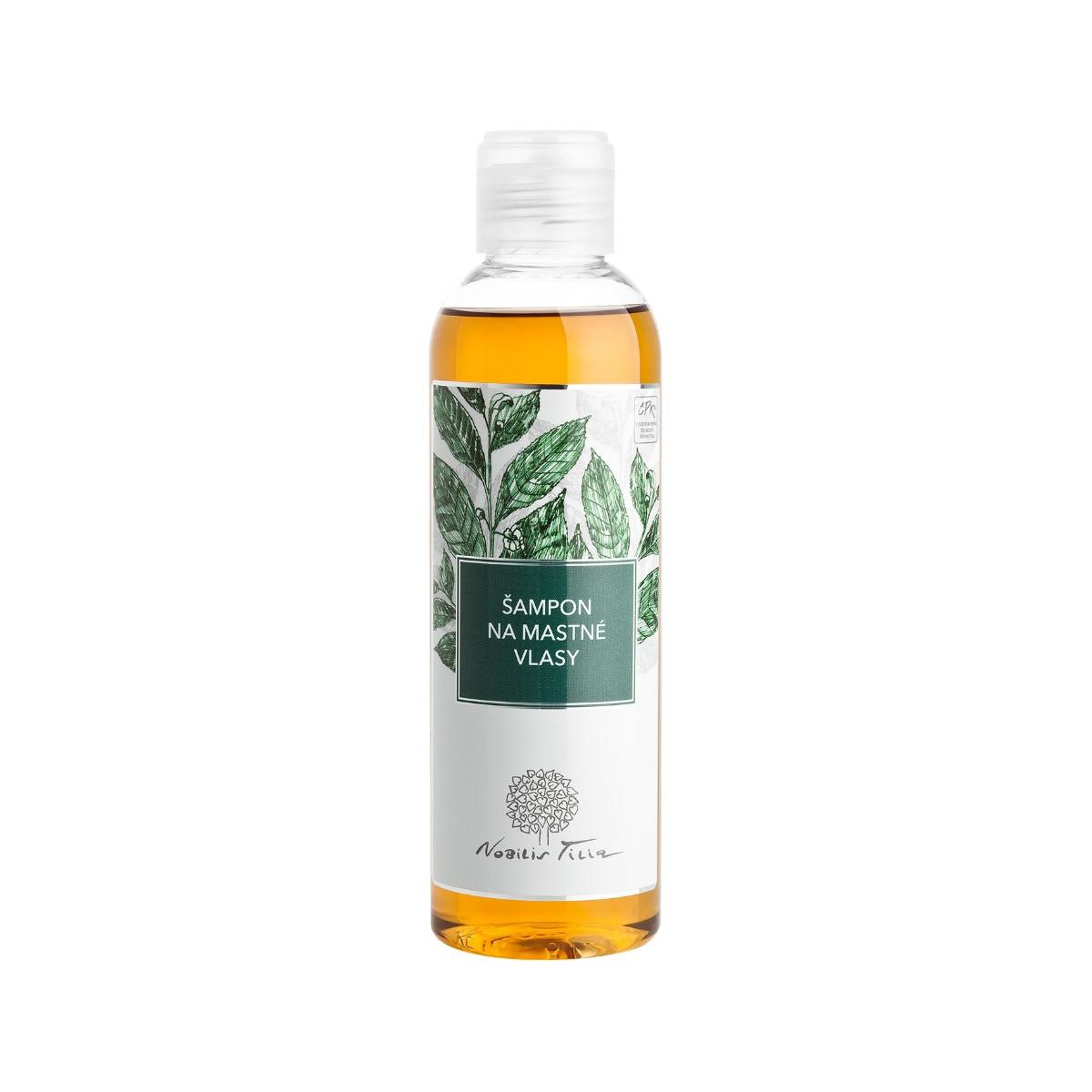 Nobilis Tilia Šampon na mastné vlasy 200 ml