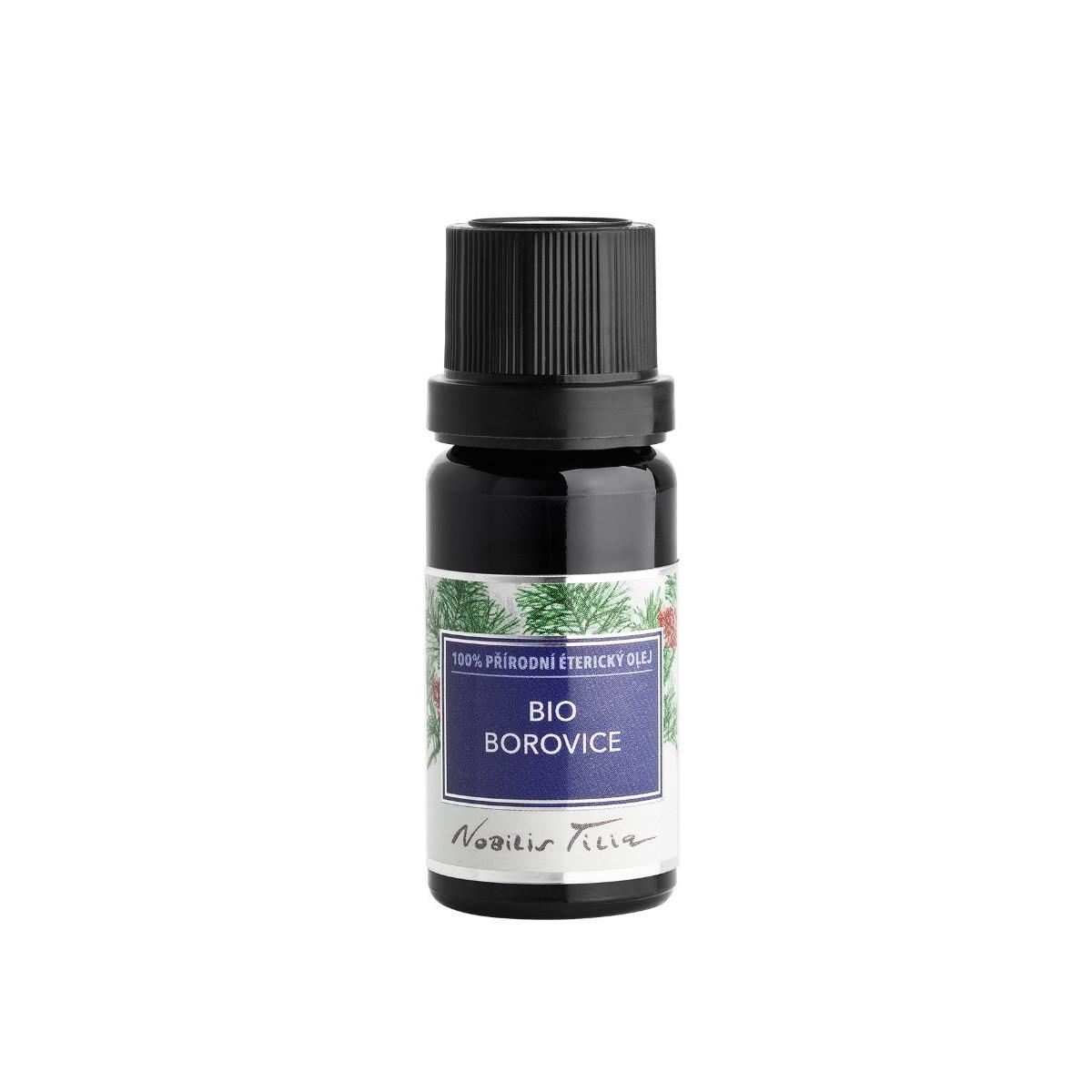 Nobilis Tilia Bio Borovice, 100% přírodní éterický olej 10 ml