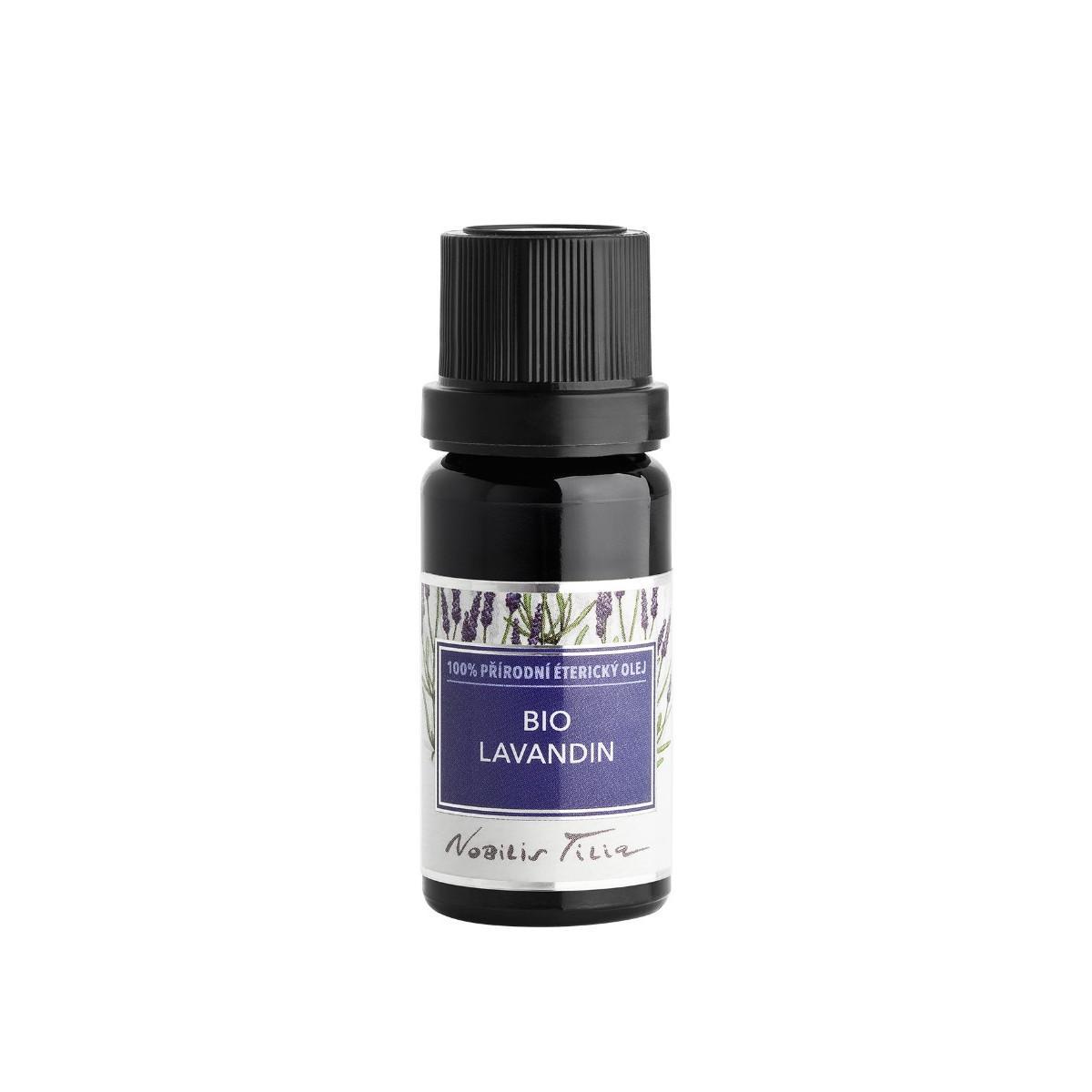 Nobilis Tilia Bio Lavandin, 100% přírodní éterický olej 10 ml