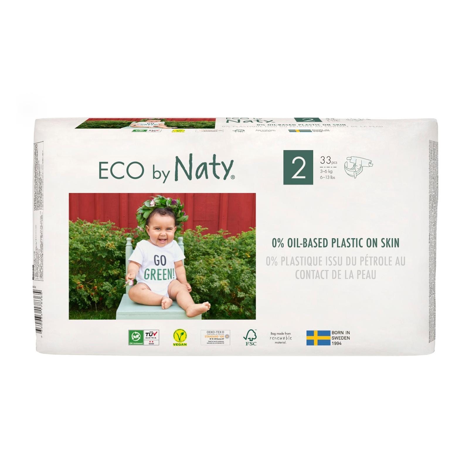 Eco by Naty Plenky Mini 3-6 kg 33 ks