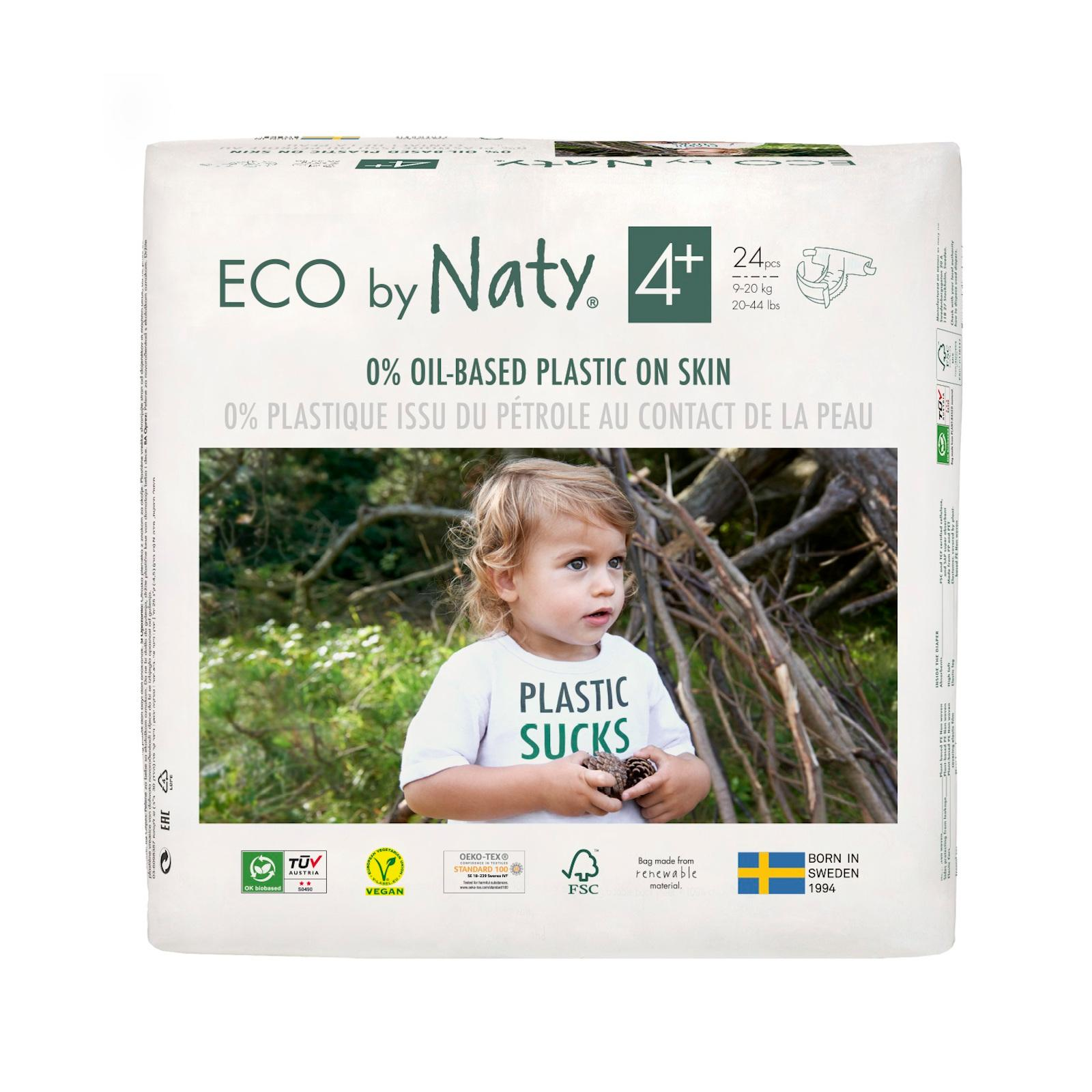 Eco by Naty Plenky Maxi+ 9-20 kg 24 ks