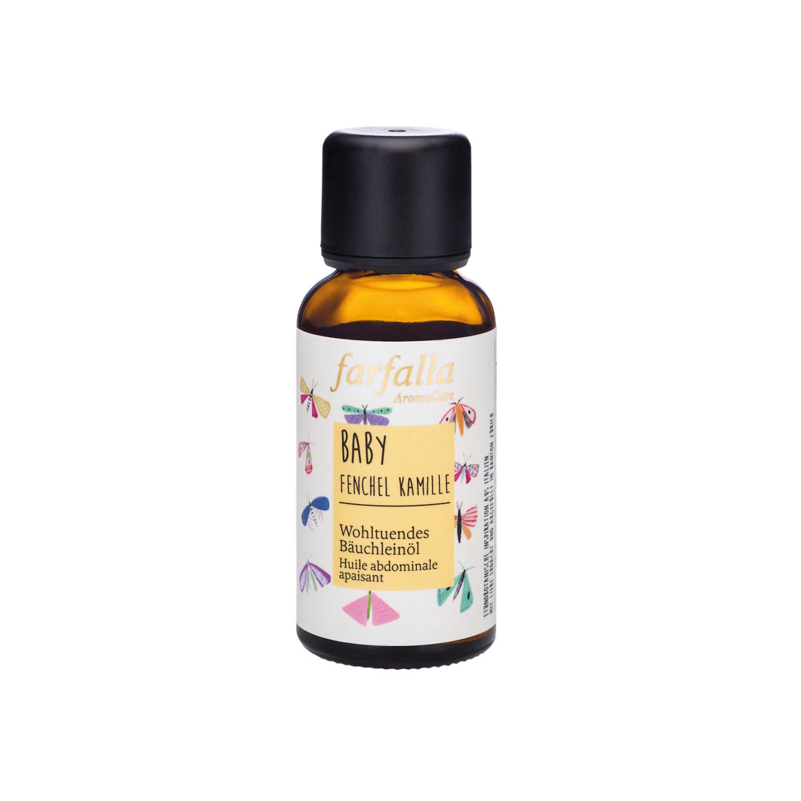 Farfalla Baby zklidňující olej na bříško fenykl a heřmánek 30 ml