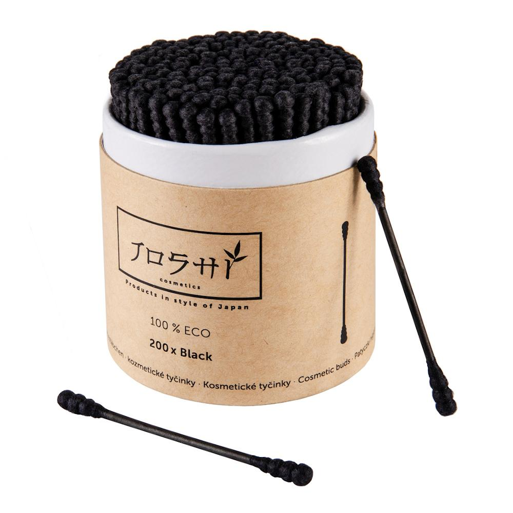 Joshi Cosmetics Bamboo black 200 ks