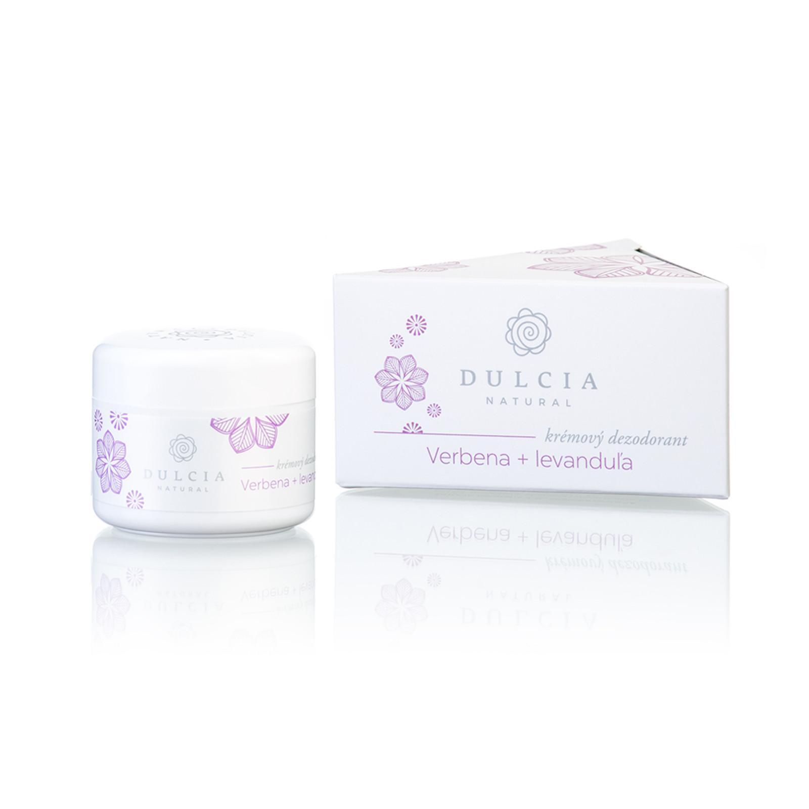 DULCIA natural Krémový deodorant verbena - levandule 30 ml