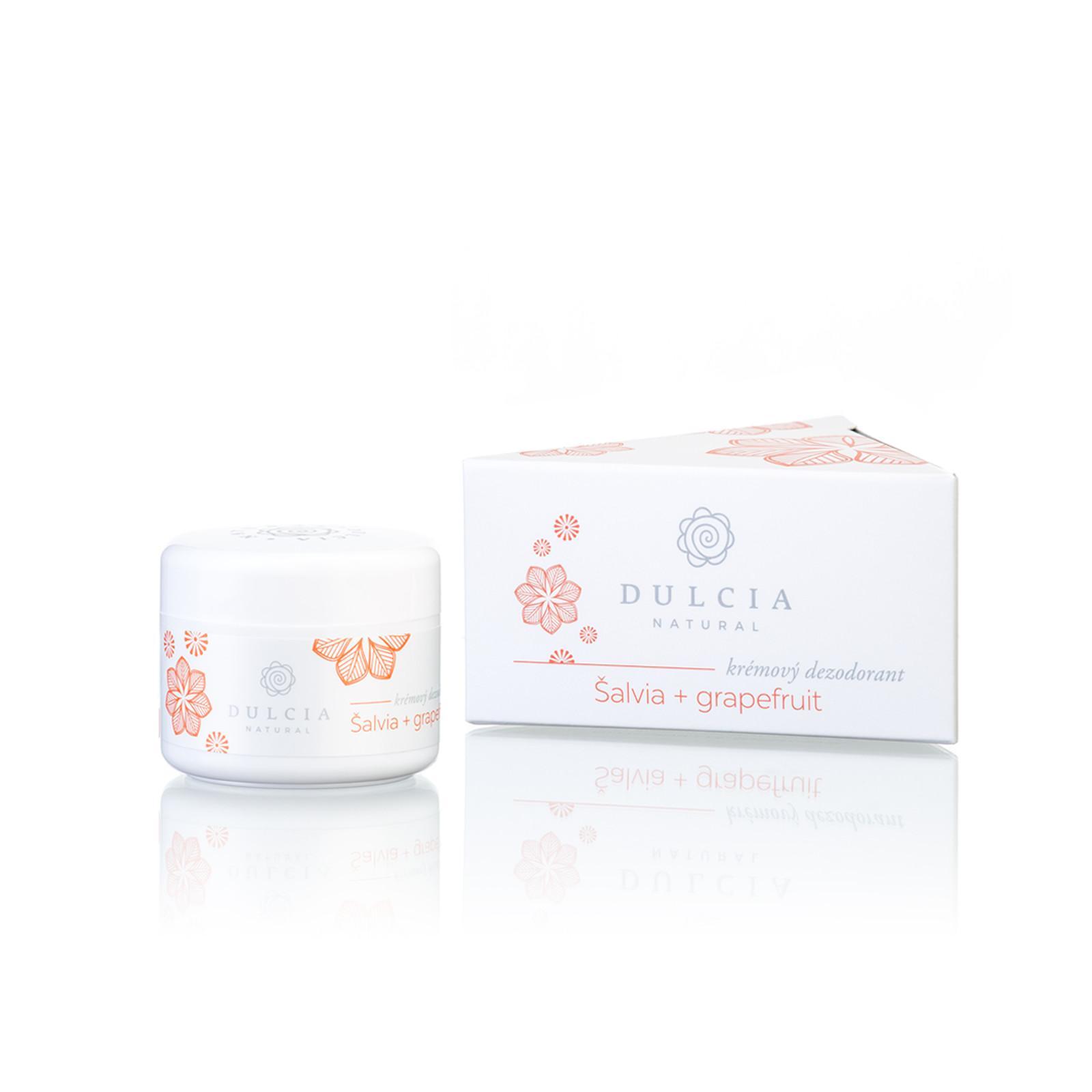 DULCIA natural Krémový deodorant šalvěj - grapefruit 30 ml