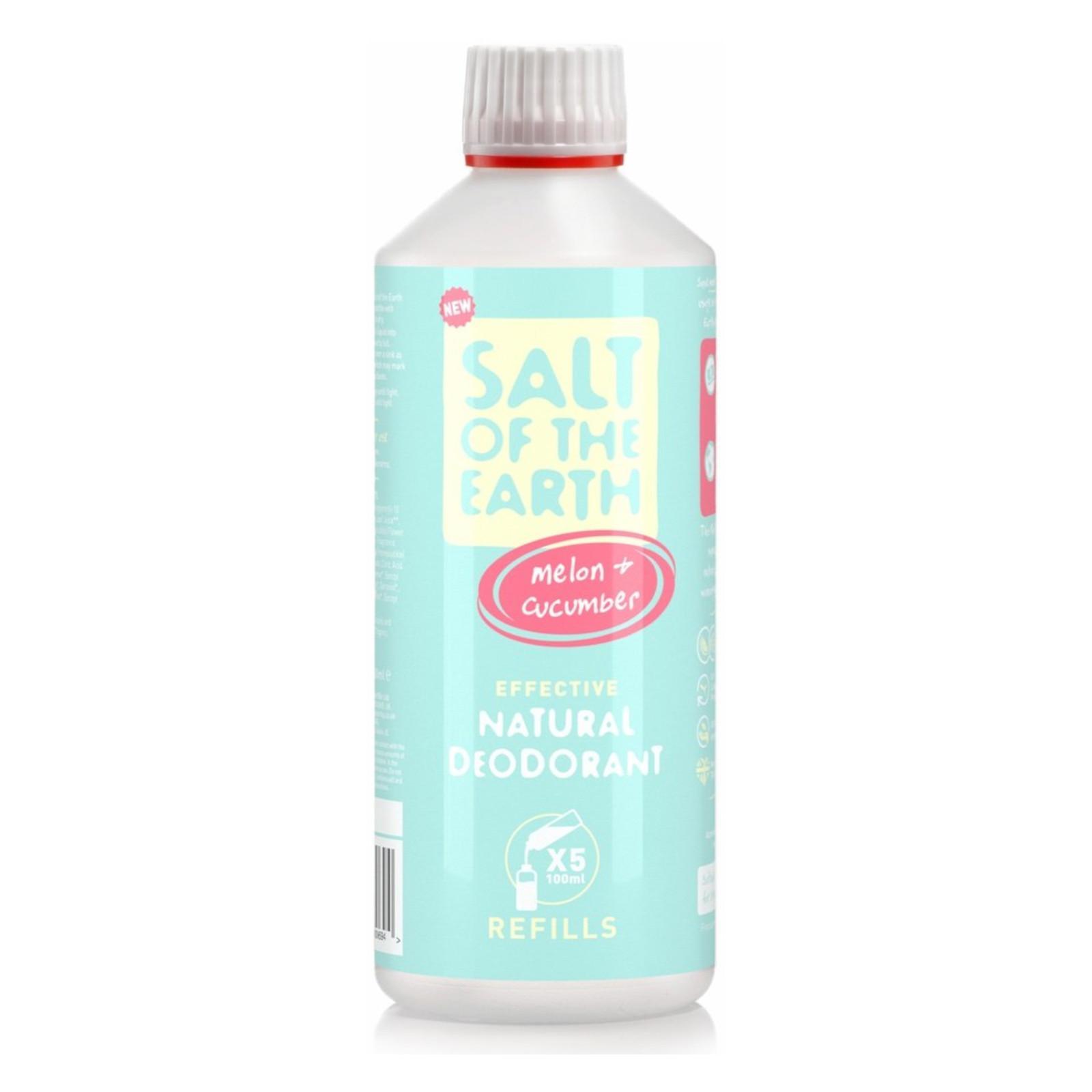 Salt of the Earth Pure Aura Náhradní náplň meloun a okurka 500 ml