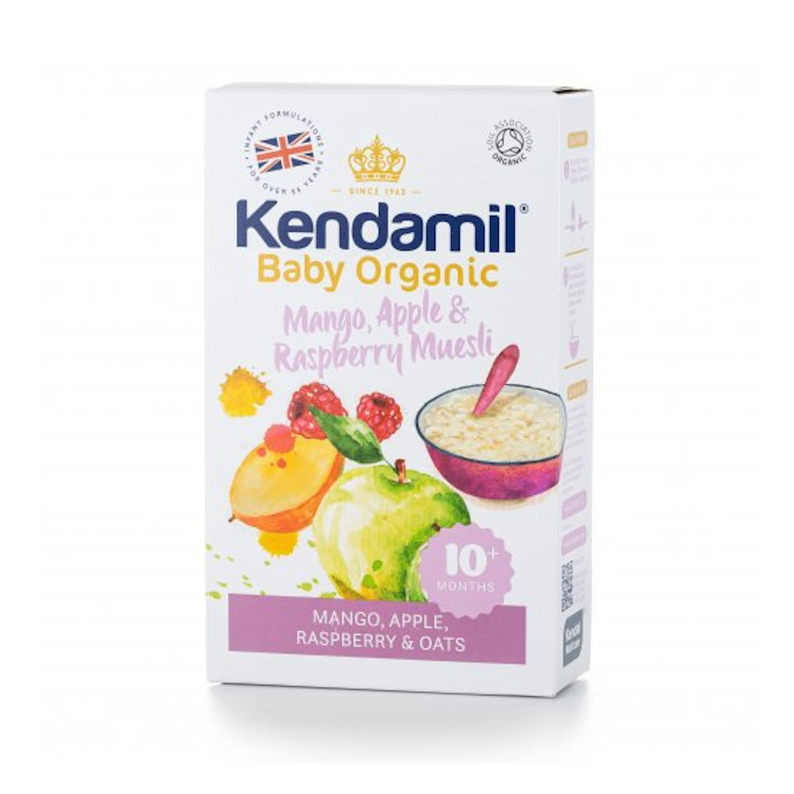 Kendamil Kaše Mango Apple Raspberry Muesli