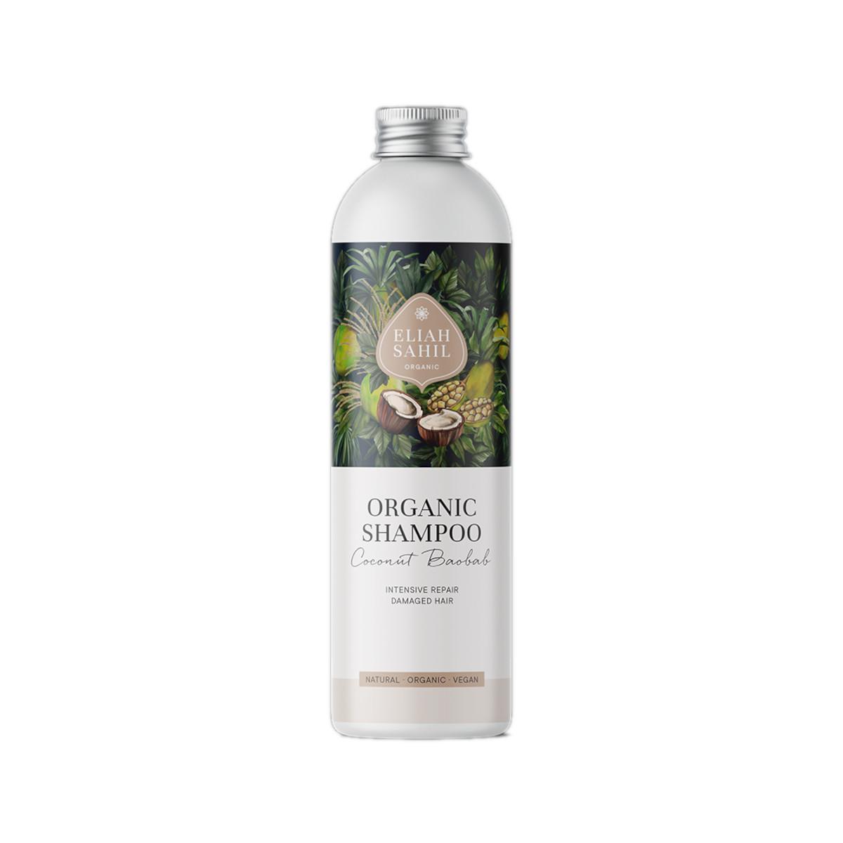 Eliah Sahil Organický šampon kokos a baobab