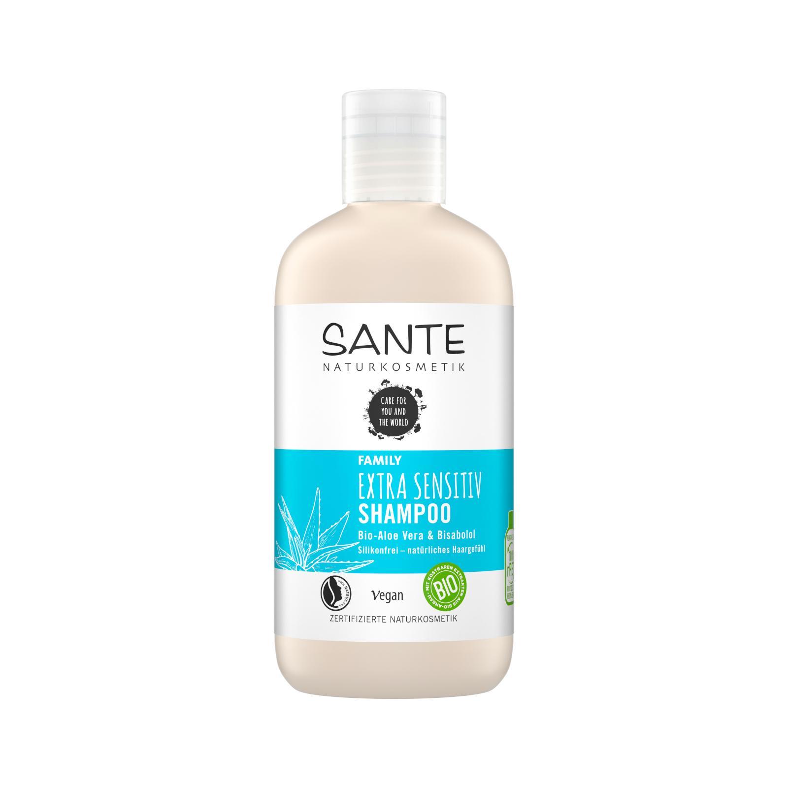 SANTE FAMILY Extra Sensitiv Šampon Bio Aloe Vera & Bisabolol 250 ml