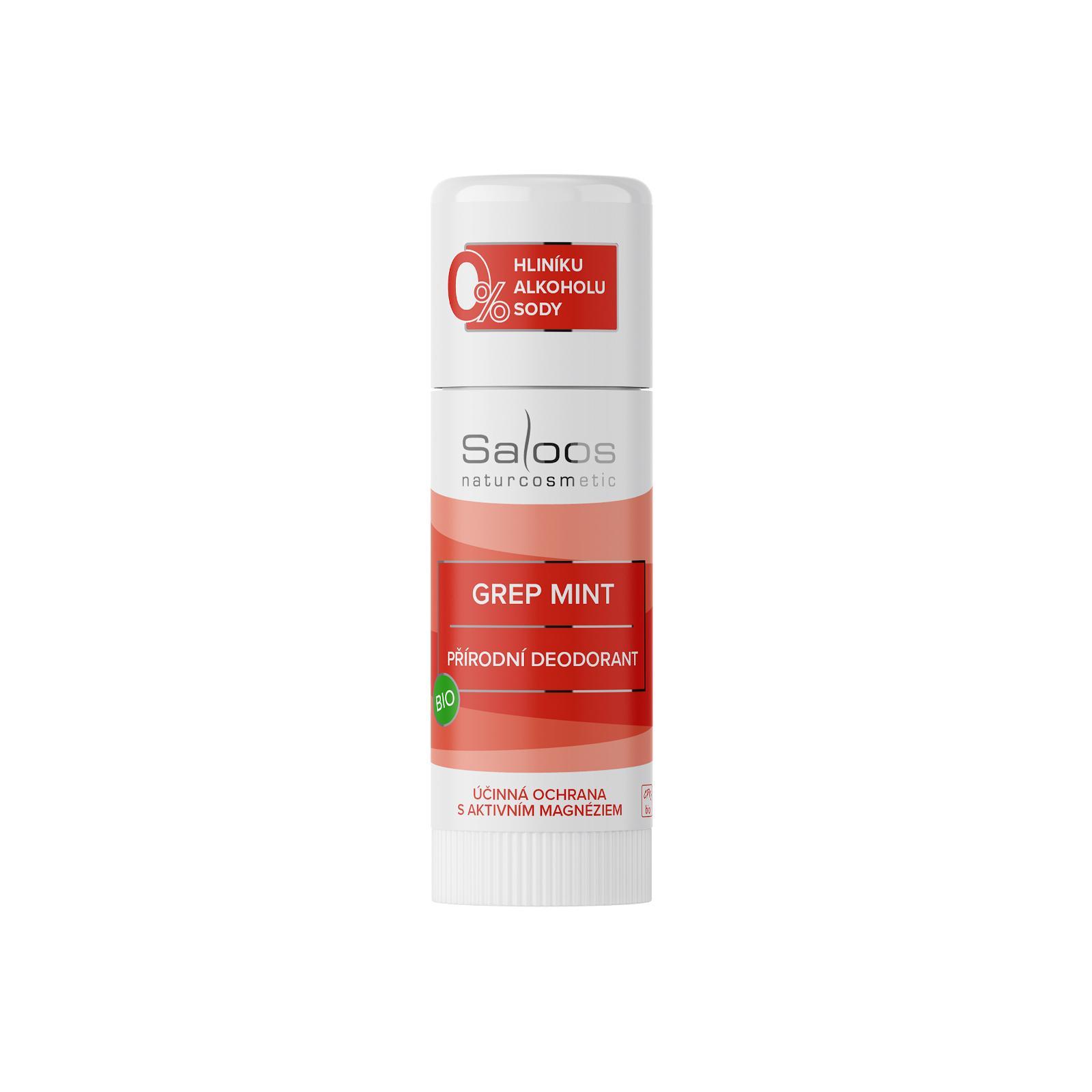 Saloos bio přírodní deodorant Grep Mint