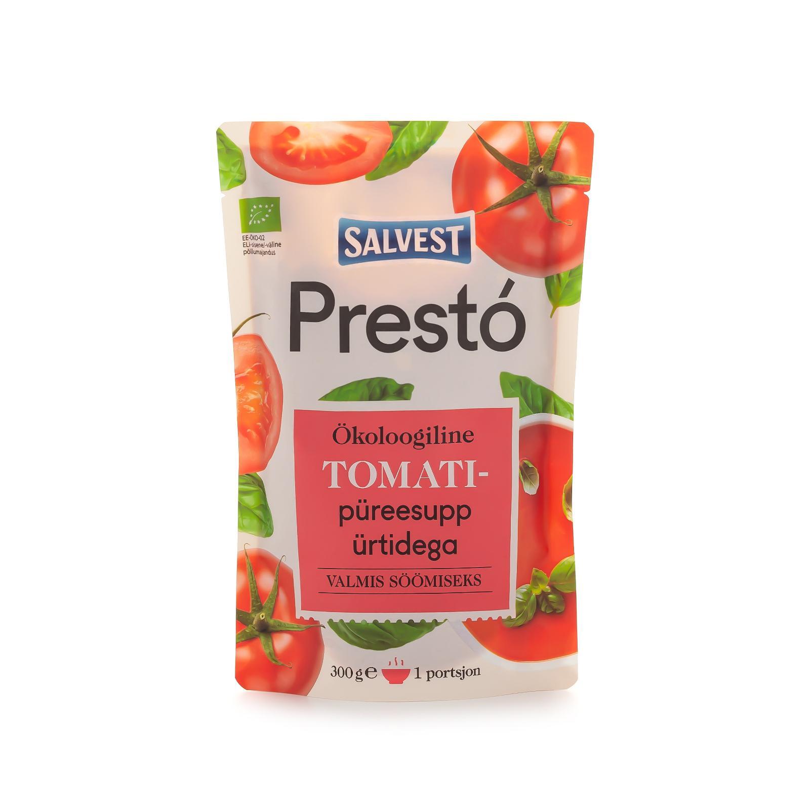 Salvest Prestó BIO Rajská polévka s bylinkami 300 g