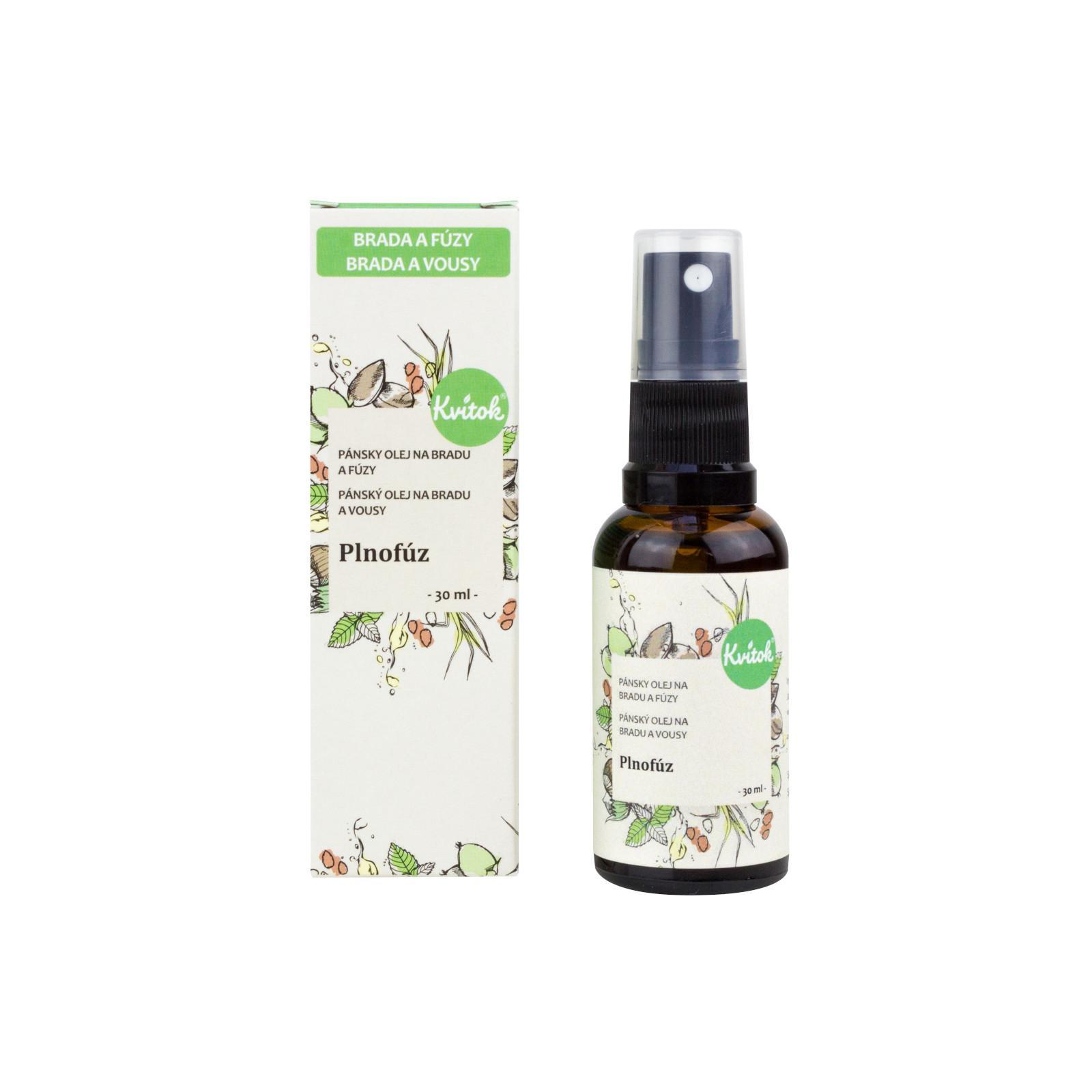 Kvitok Ošetřující olej na bradu a vousy plnovous 30 ml