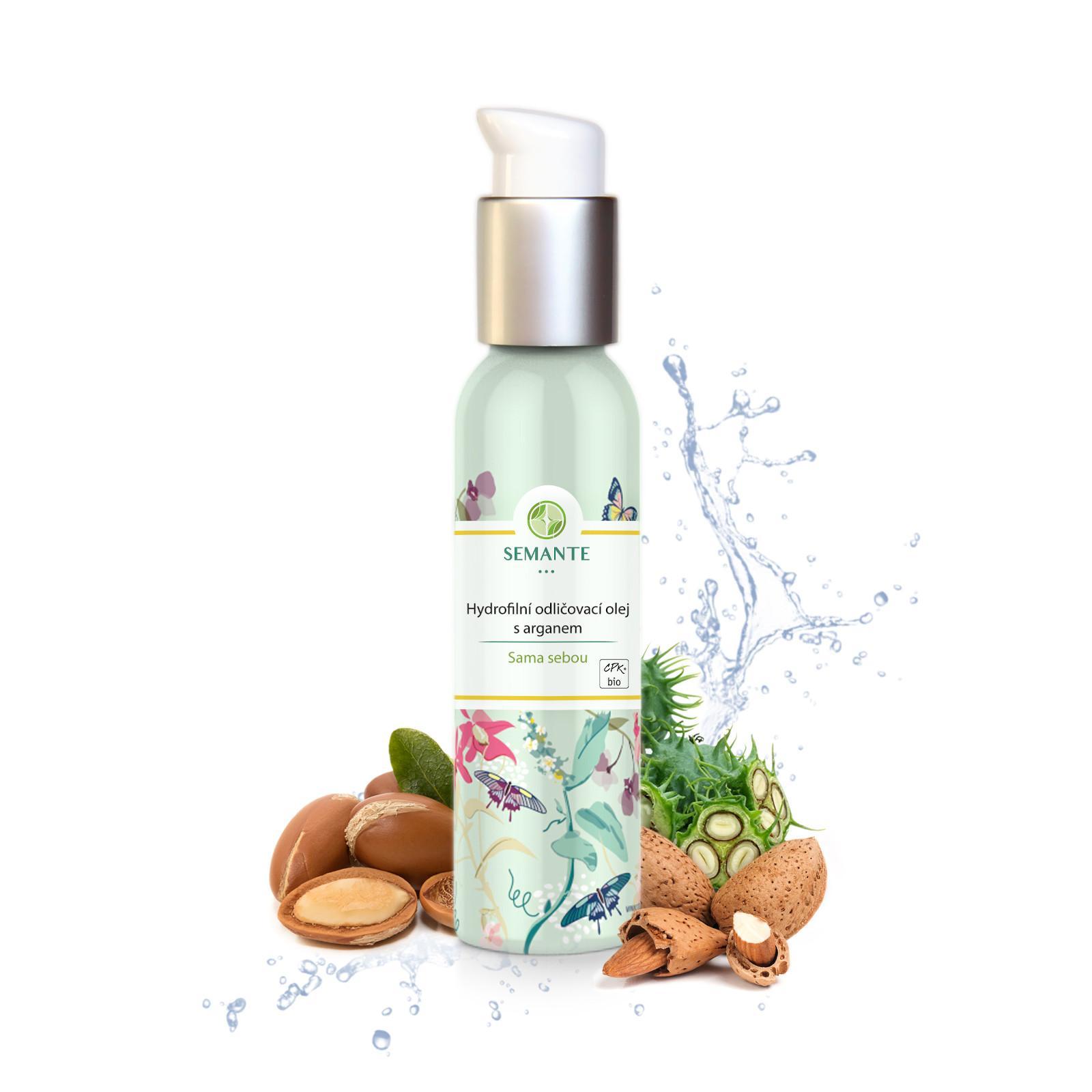 Semante by Naturalis Hydrofilní odličovací olej s arganem