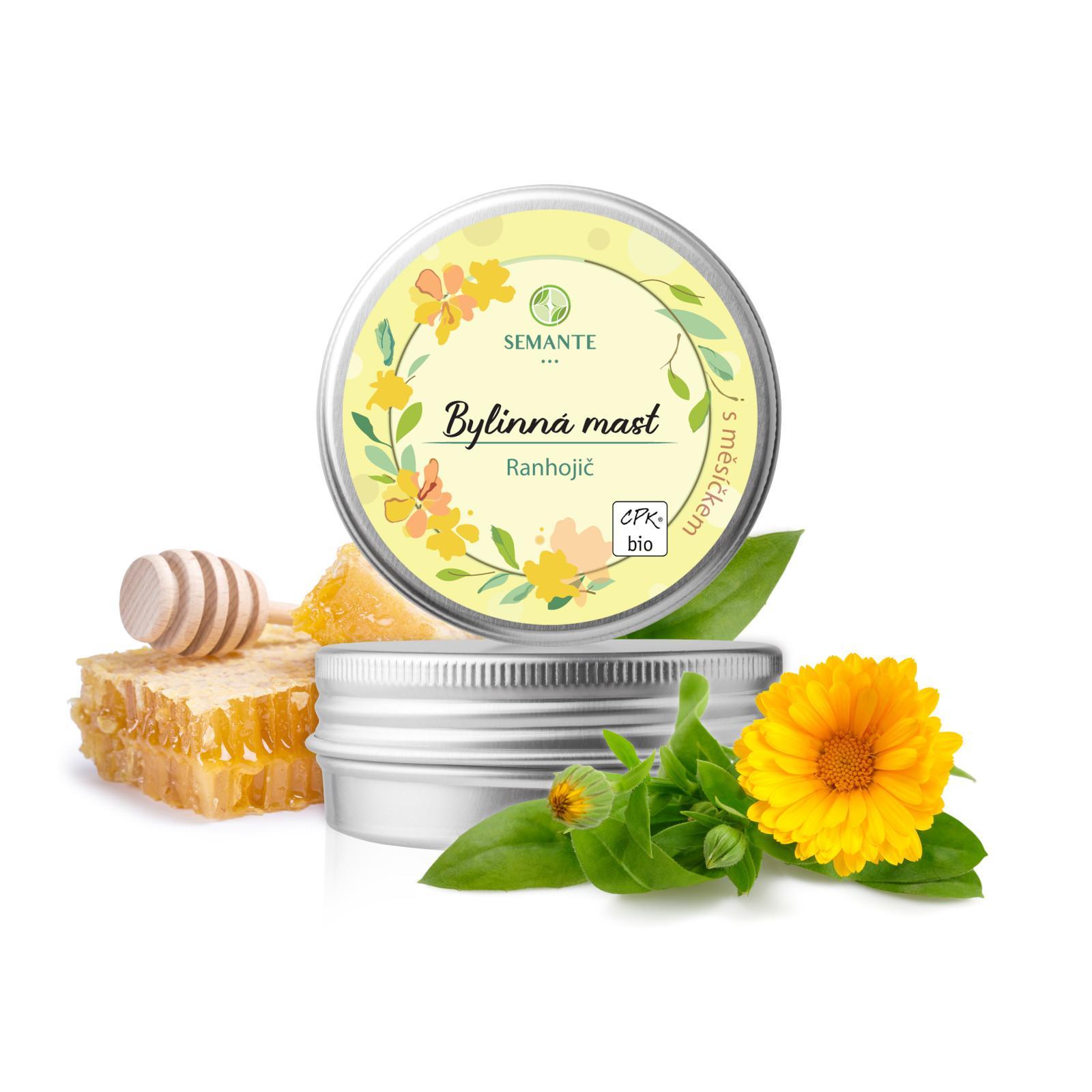 Semante by Naturalis Ranhojič, bylinná mast s měsíčkem 50 ml